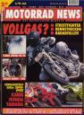 Titelseite Motorrad News 6/1996