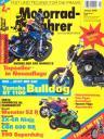 Titelseite Motorradfahrer 1/2005