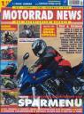 Titelseite Motorrad News 1/2005