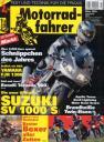 Titelseite Motorradfahrer 3/2003