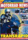 Titelseite Motorrad News 4/2001