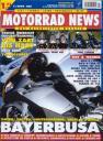 Titelseite Motorrad News 7/2004