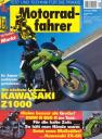 Titelseite Motorradfahrer 1/2003